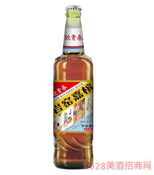 致青春 岩窑嘉槟啤酒
