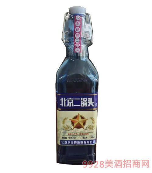 北京二锅头酒-42度-500ml 方瓶