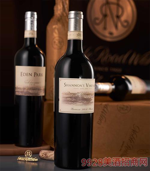 2016澳大利亞貴族之路香濃西拉紅葡萄酒
