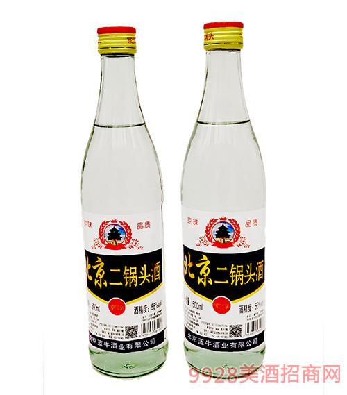 北京二鍋頭酒56度500ml