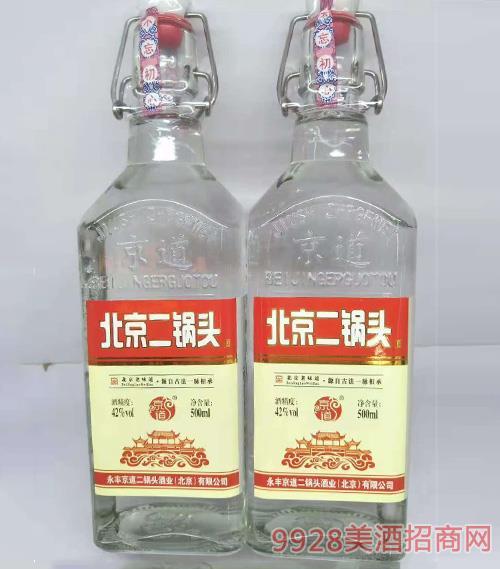 京道二锅头酒-红标