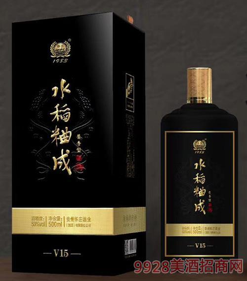 水稻粬成-V15-53度-500ml