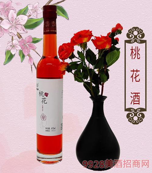 �S氏桃花酒 415ml冰酒瓶