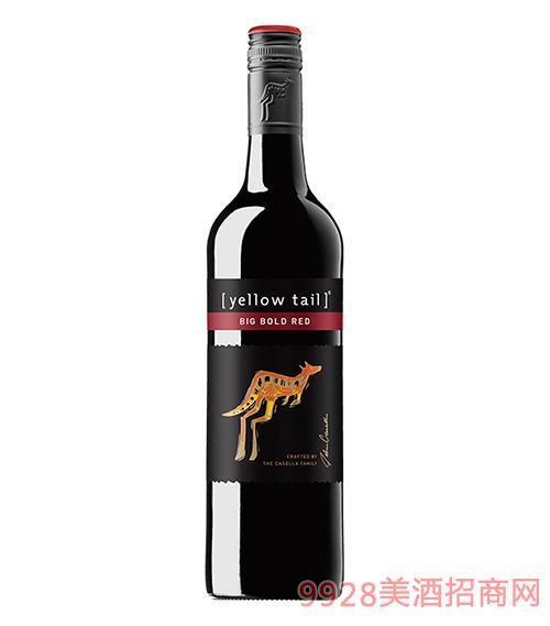 黃尾袋鼠魄麗紅葡萄酒