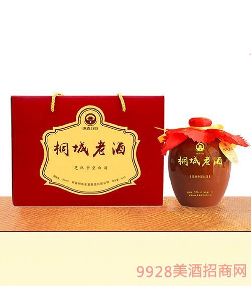 桐城老酒1Lx2�Y盒