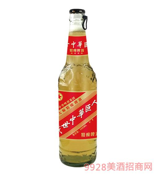 中华精酿啤酒500ml侧拉盖8°P鸿运当头