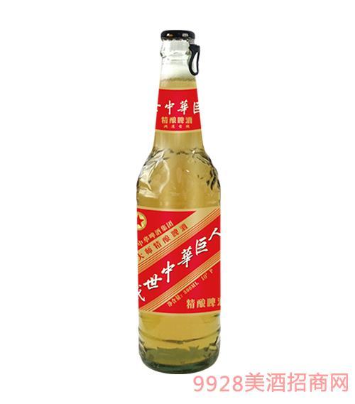 中华精酿啤酒500ml侧拉盖10°P鸿运当头