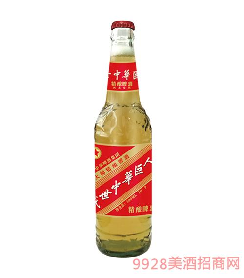 中华精酿啤酒500ml普通盖10°P鸿运当头