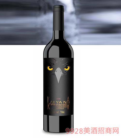 凯雅纳鹰眼赤霞珠干红葡萄酒