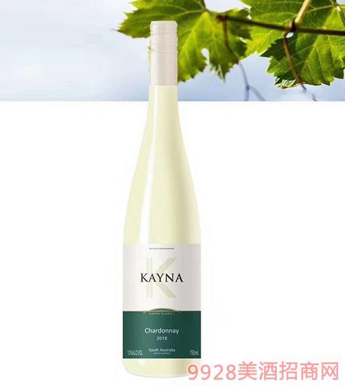 凯雅纳霞多丽干白葡萄酒