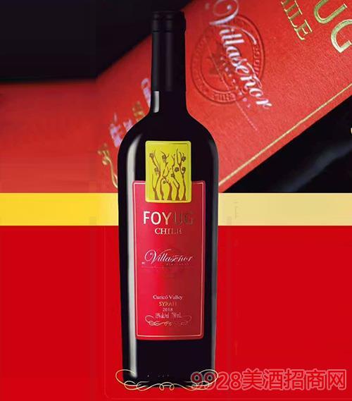 西拉红干葡萄酒