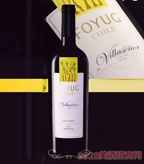 赤霞珠红干葡萄酒