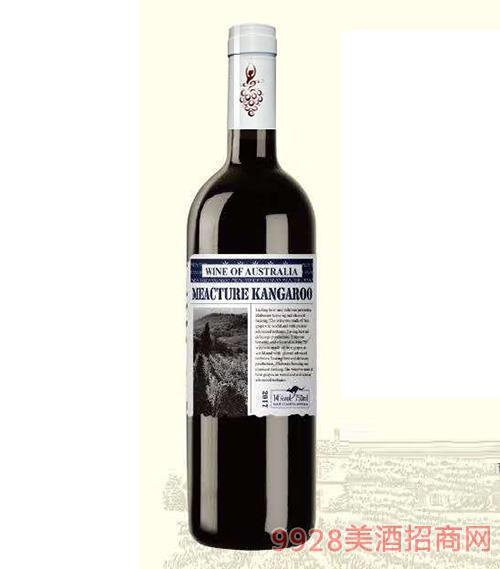 米爵袋鼠·赤霞珠干红葡萄酒