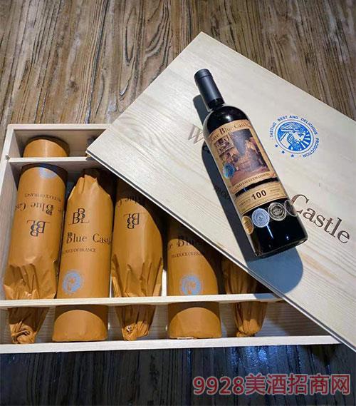 波蓝堡皇室干红葡萄酒 实