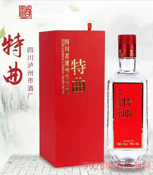 特曲酒(�t盒)42度500ml