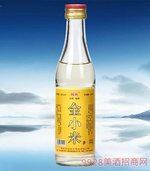 榆城金小米酒配制酒【42°250ml】