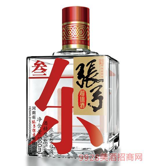 ��弓超值酒・叁46度500ml
