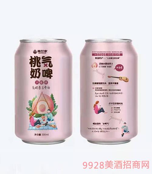 青世家-桃气奶啤-水蜜桃味