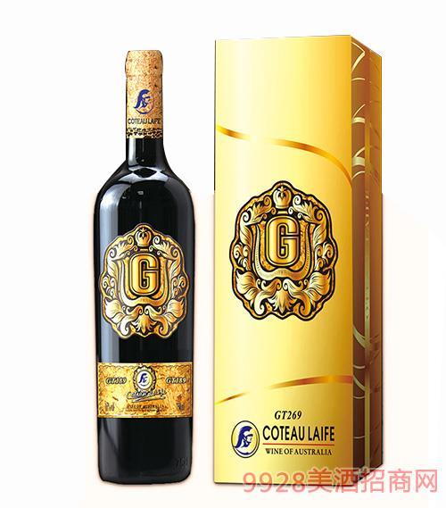 歌图人生 荣耀 GT269干红葡萄酒