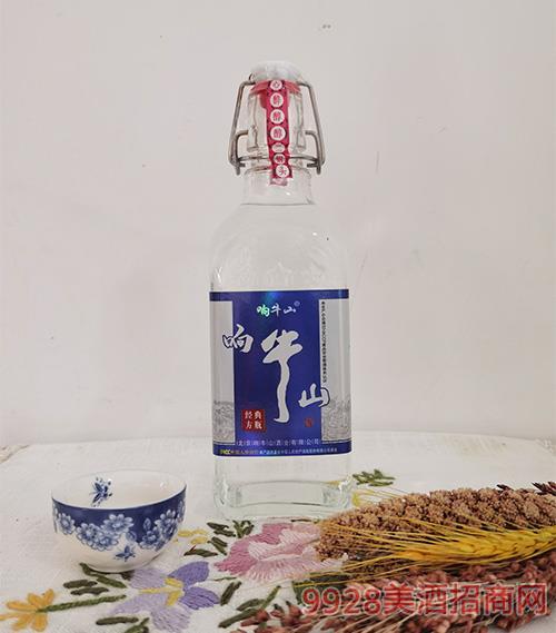 响牛山北京二锅头-经典方瓶