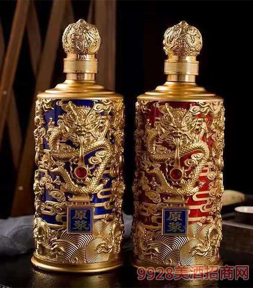 龙纹瓶原浆酒