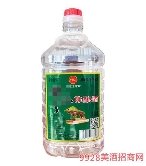 井拦山牛二陈酿酒42度4L