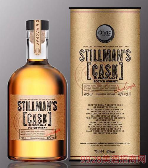 斯蒂尔曼5年单麦威士忌40度700ml