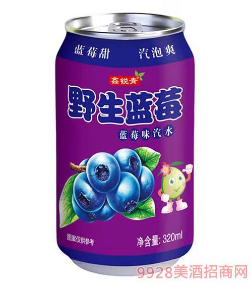 果味型盐酸饮料(野生蓝莓)320ml