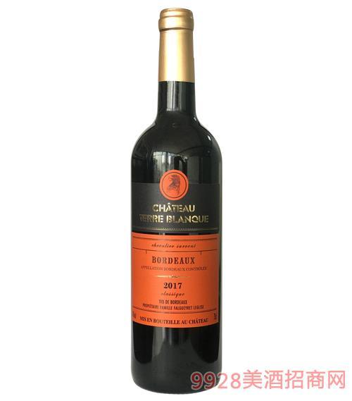 缔豪古堡雪峰骑士经典干红葡萄酒14度750ml
