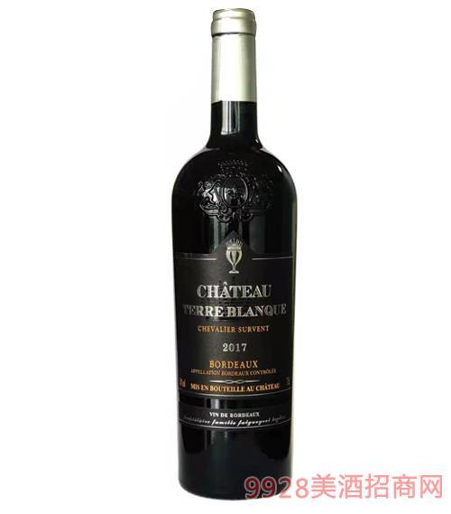 缔豪古堡雪峰骑士干红葡萄酒14度750ml