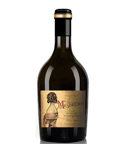 布朗夫人·薇娅干红葡萄酒