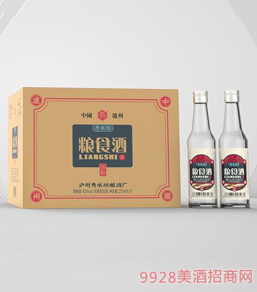 秀水坊�Z食酒珍�Z42度250mlx20