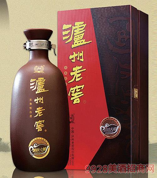 瀘州老窖 紫砂大曲52度濃香型白酒