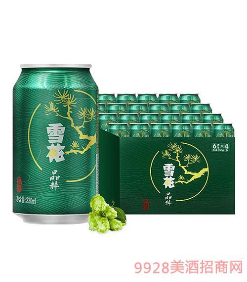 雪花啤酒-8度晶粹-330ml