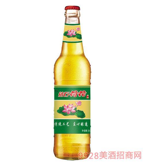 钻石荷花啤酒330ml