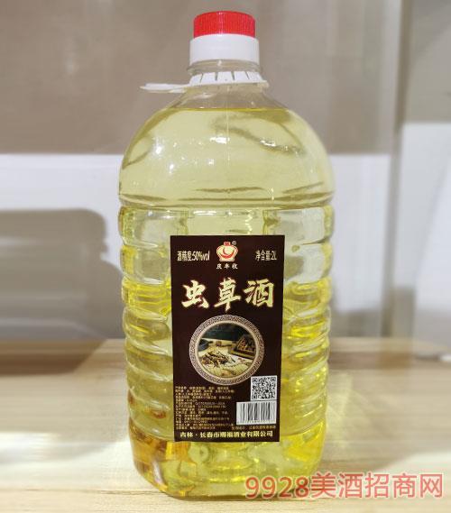 慶豐收蟲草酒50度2L