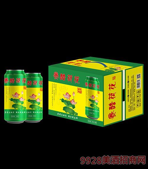 赛酷荷花啤酒500mlx12瓶
