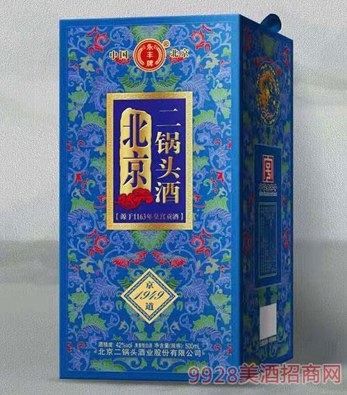 北京二��^酒京道1949(�{盒)42度500ml
