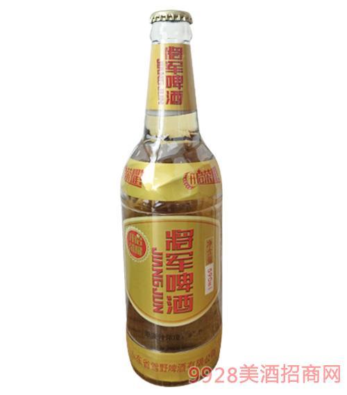 将军啤酒开启荣耀590ml