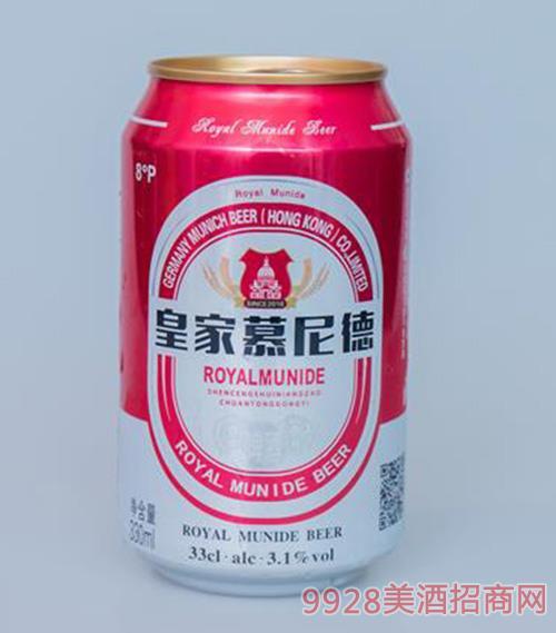 皇家慕尼德啤酒330ml