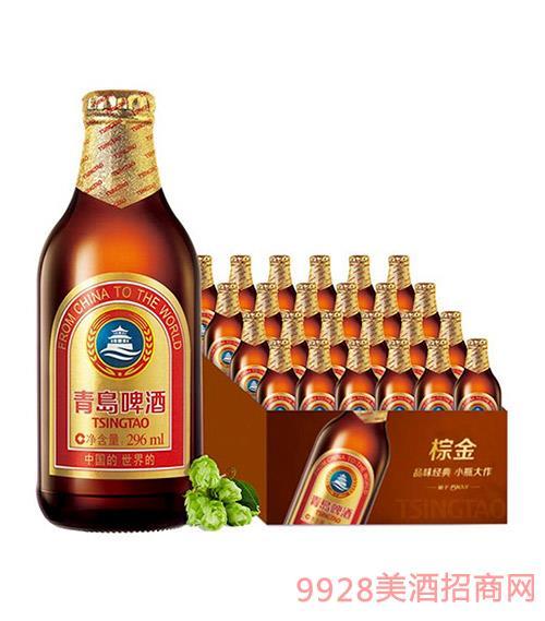 青�u啤酒金�|-小棕金-11度-296ml