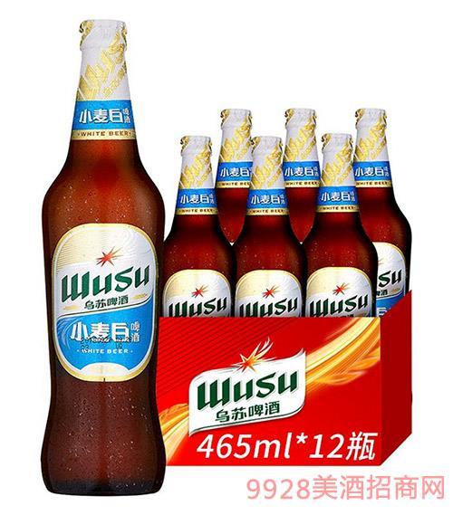 �跆K啤酒-白啤465ml