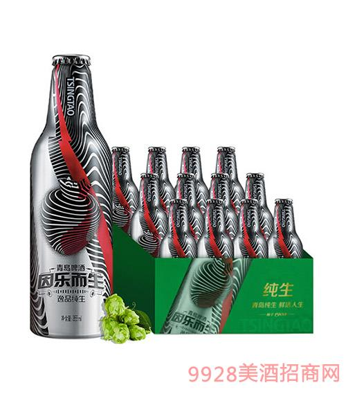 青�u啤酒-逸品�生-潮音瓶-355ml