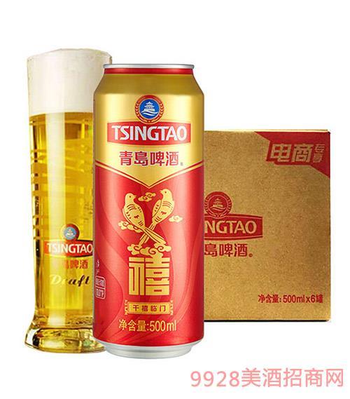 青�u啤酒千禧�R�T500ml
