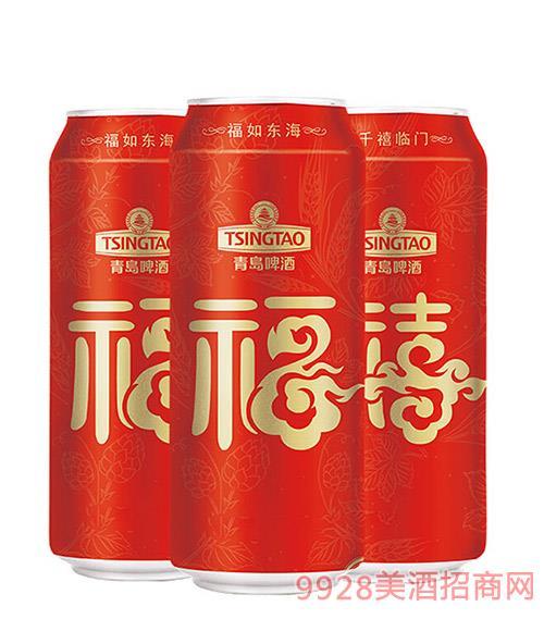 青�u啤酒福禧�p至500ml