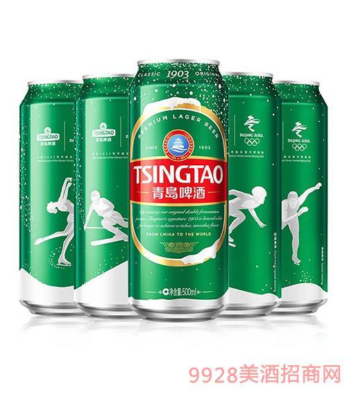 青�u啤酒�典1903冬�W罐500ml