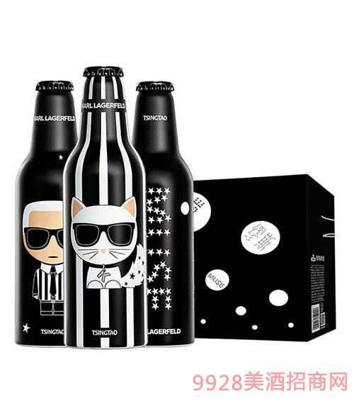 青�u啤酒-Karl-Lagerfeld-x-夜�子啤酒355ml