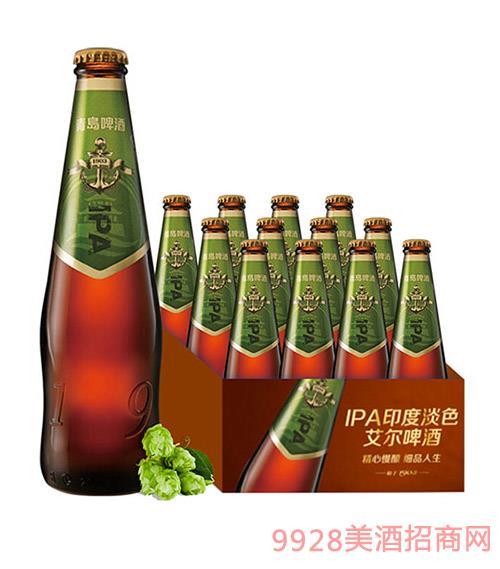 青�u啤酒IPA印度淡色艾��精�啤酒330ml