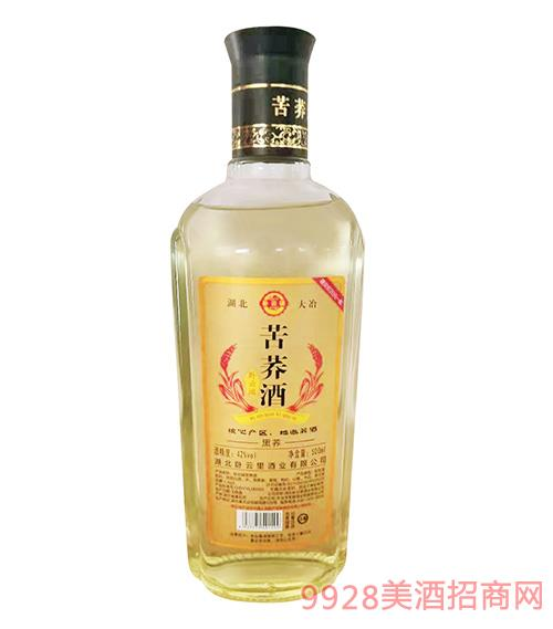 卧云端苦荞酒·黑荞 42度 500ml