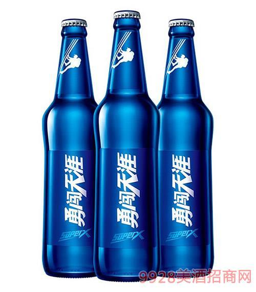 雪花啤酒勇闖天涯9度-SuperX-500ml